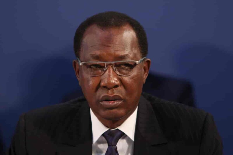 The late Idriss Déby.