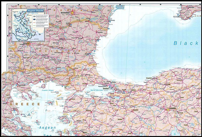 Greco-Turk border